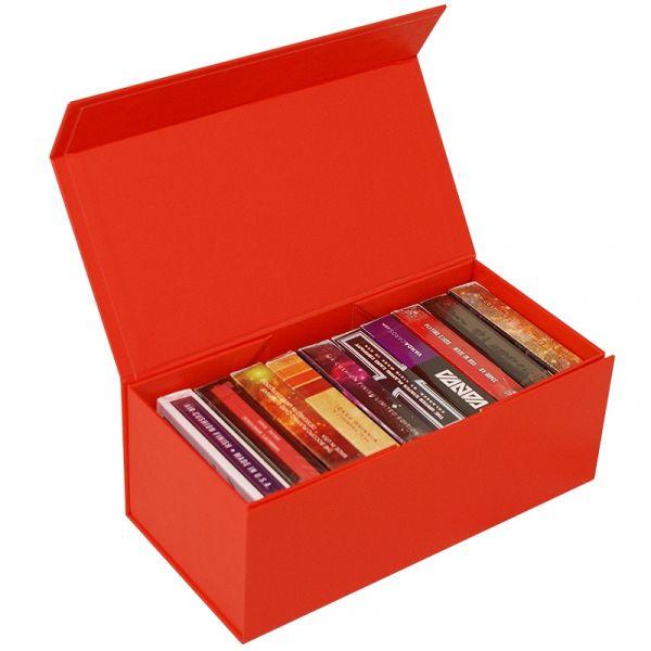 BAISIK Playing Card Storage Box - Red
