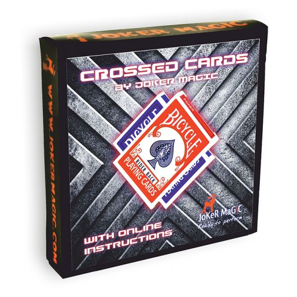 Crossed Cards by Joker Magic
