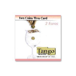 Two coins thru card - 2 Euro